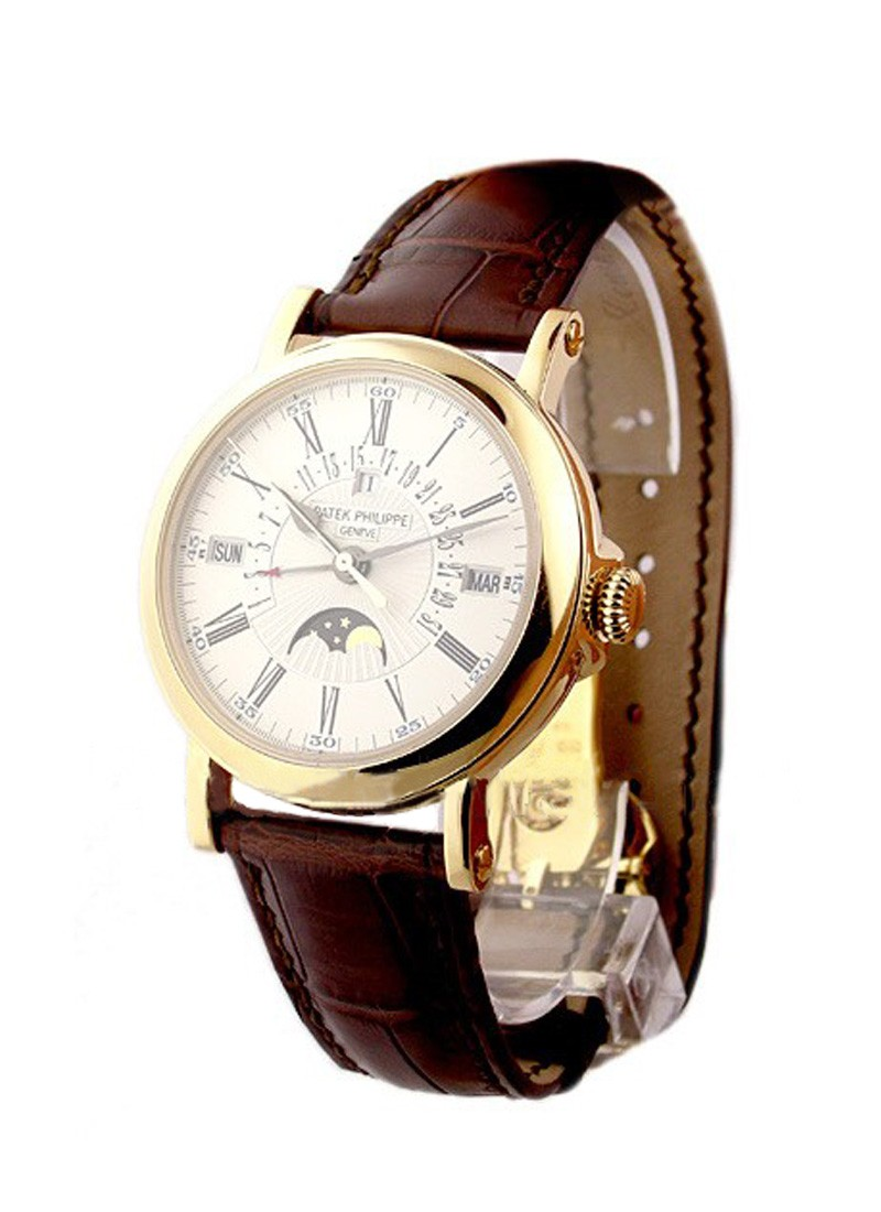 Patek Philippe Perpetual Calendar Ref 5159 Retrograde in Yellow Gold