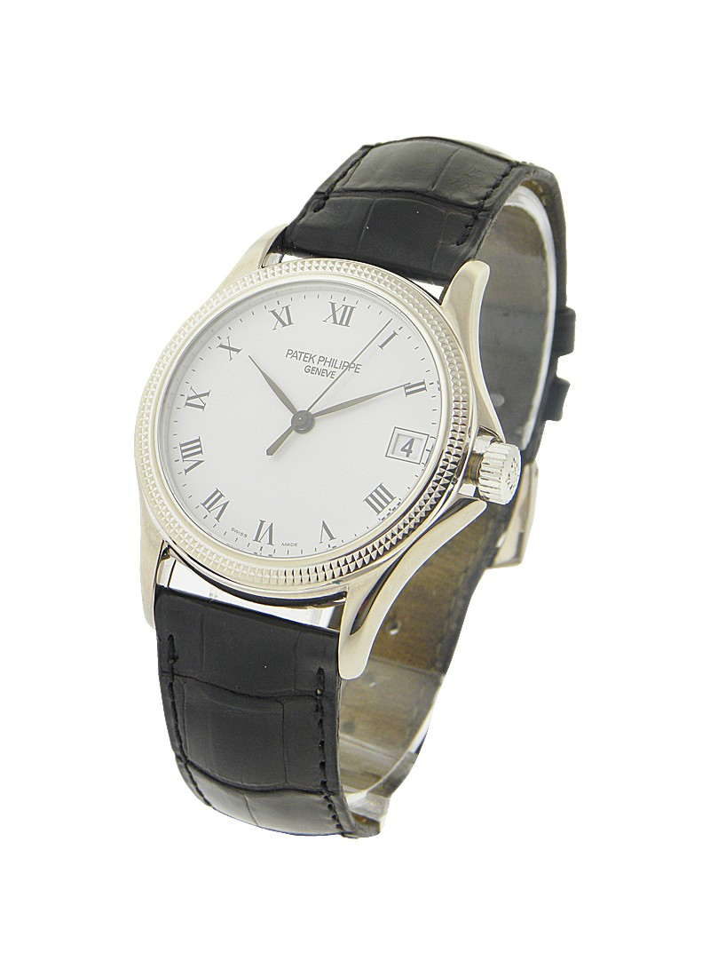 Patek Philippe Calatrava 5117 in White Gold