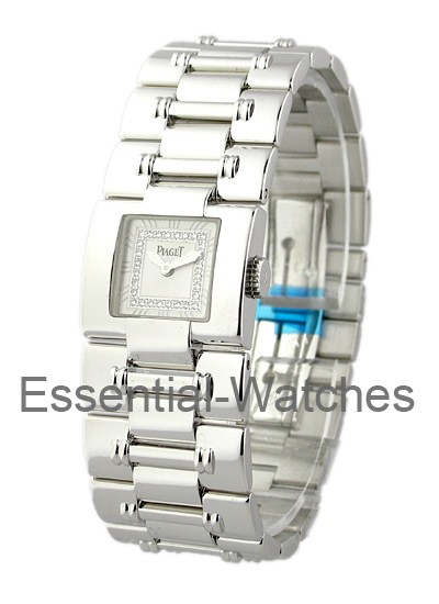 Piaget Square Dancer -  Small Size in White Gold