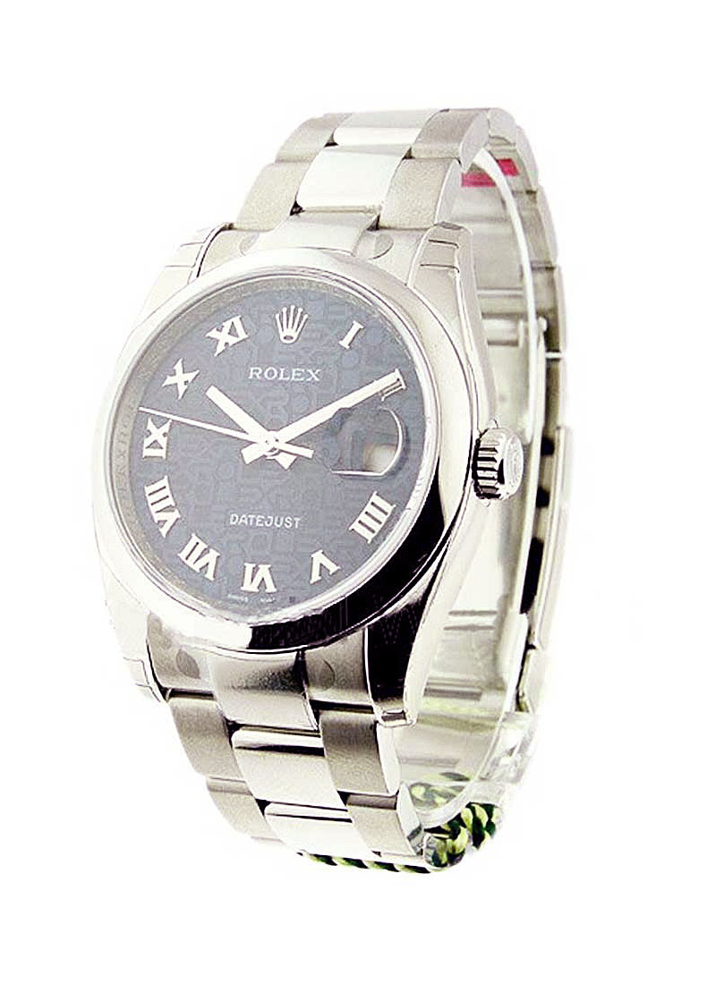 Rolex Unworn Datejust 36mm in Steel with Domed Bezel