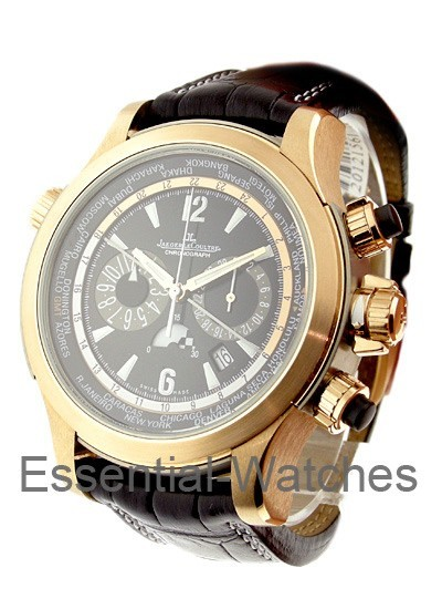 Jaeger - LeCoultre Master Compressor Extreme World Chrono   Limited Edition in Rose Gold