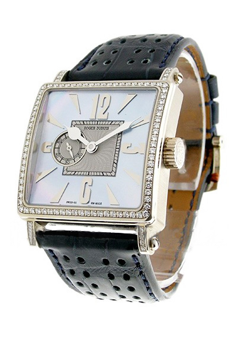 Roger Dubuis Lady's Golden Square with Diamond Case
