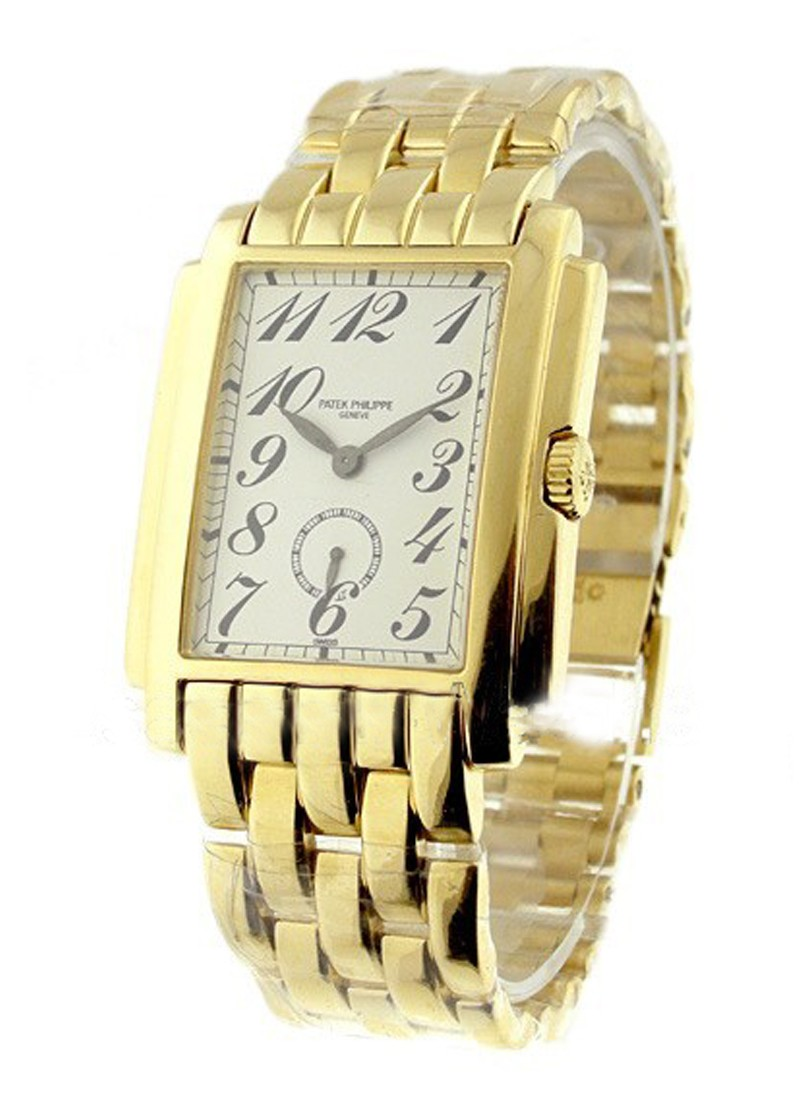 Patek Philippe Gondolo 5024 Art Deco in Yellow Gold
