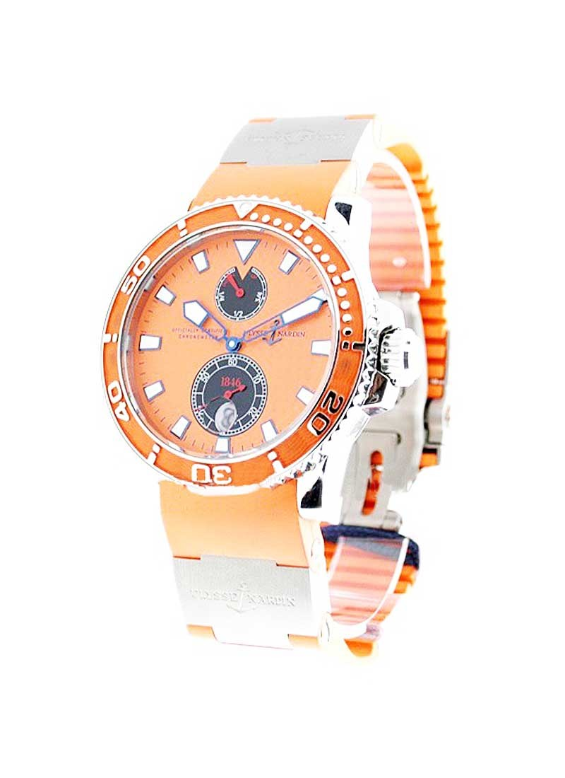 Ulysse Nardin Maxi Marine Diver Chronometer ORANGE
