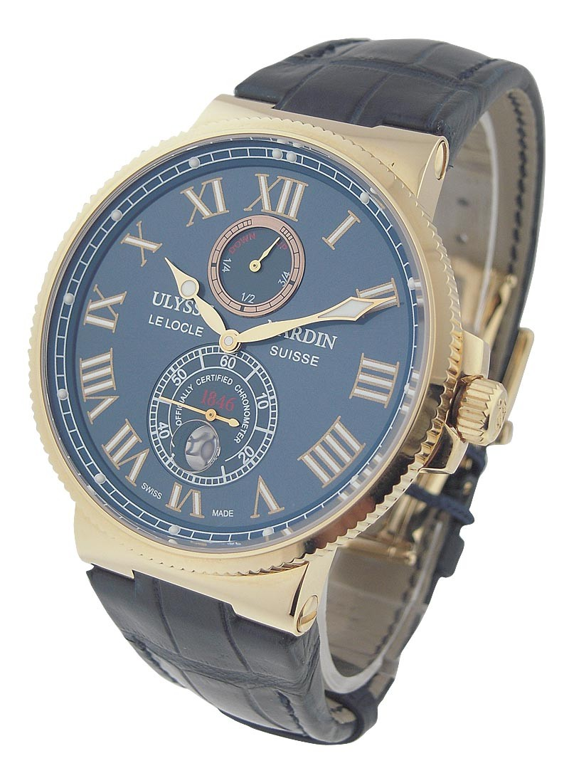 Ulysse Nardin Maxi Marine Chronometer 43mm in Rose Gold