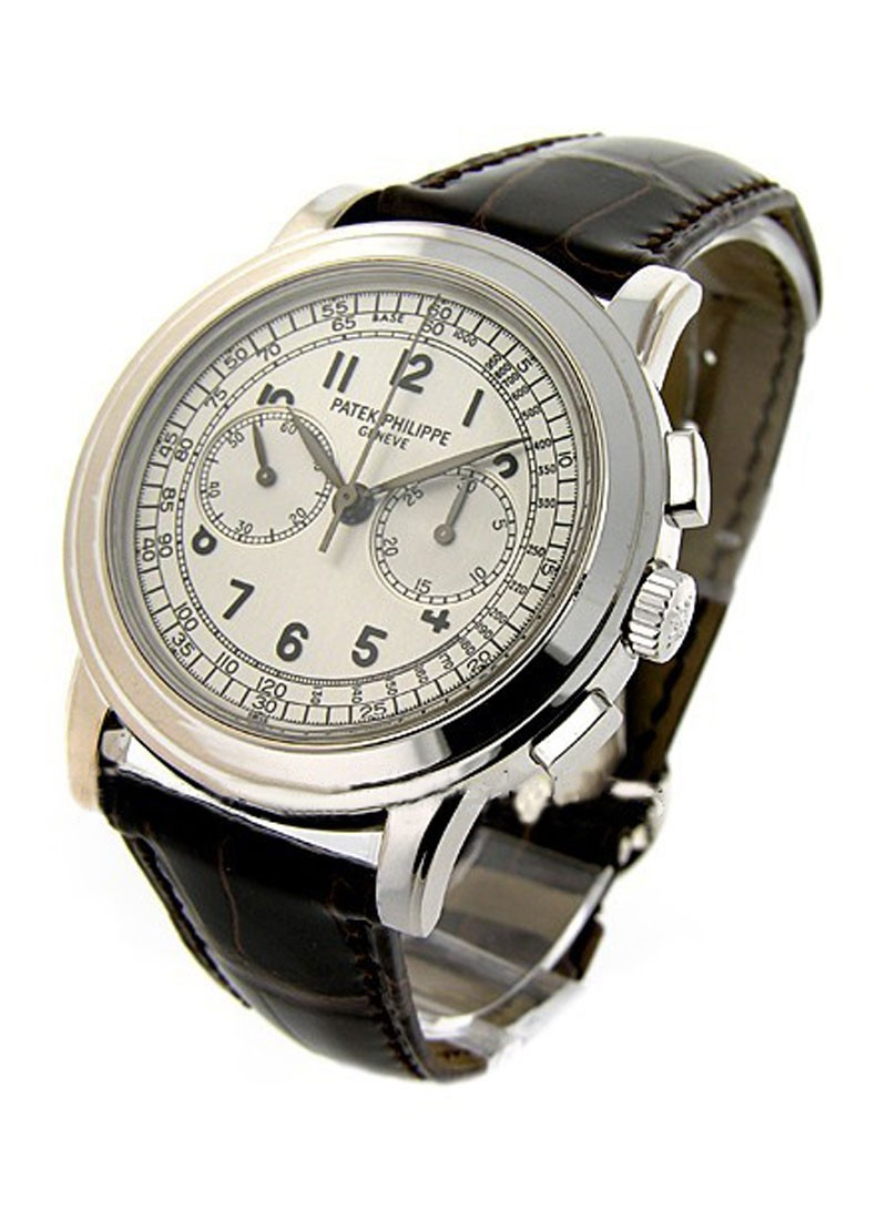 Patek Philippe 5070G Chronograph in White Gold