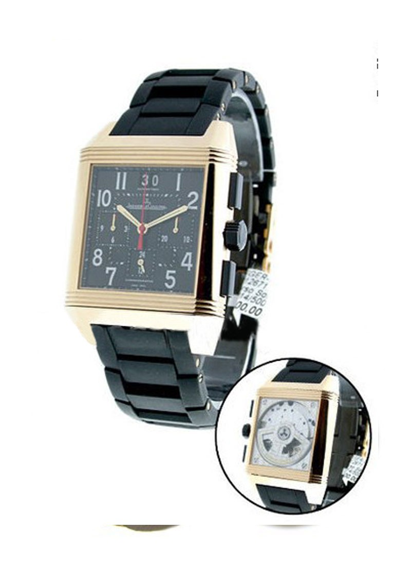 Jaeger - LeCoultre Reverso Squadra Chrono Limited Edition in Rose Gold