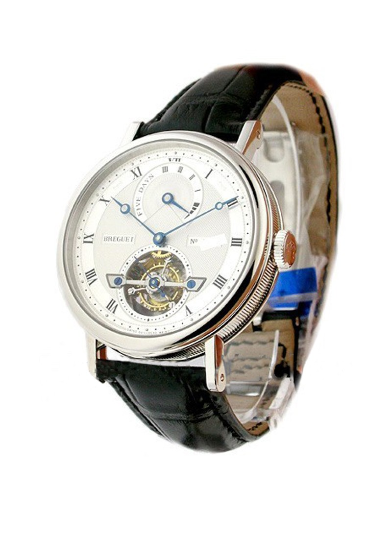 Breguet 5317 Automatic Tourbillon with Power Reserve Indicator