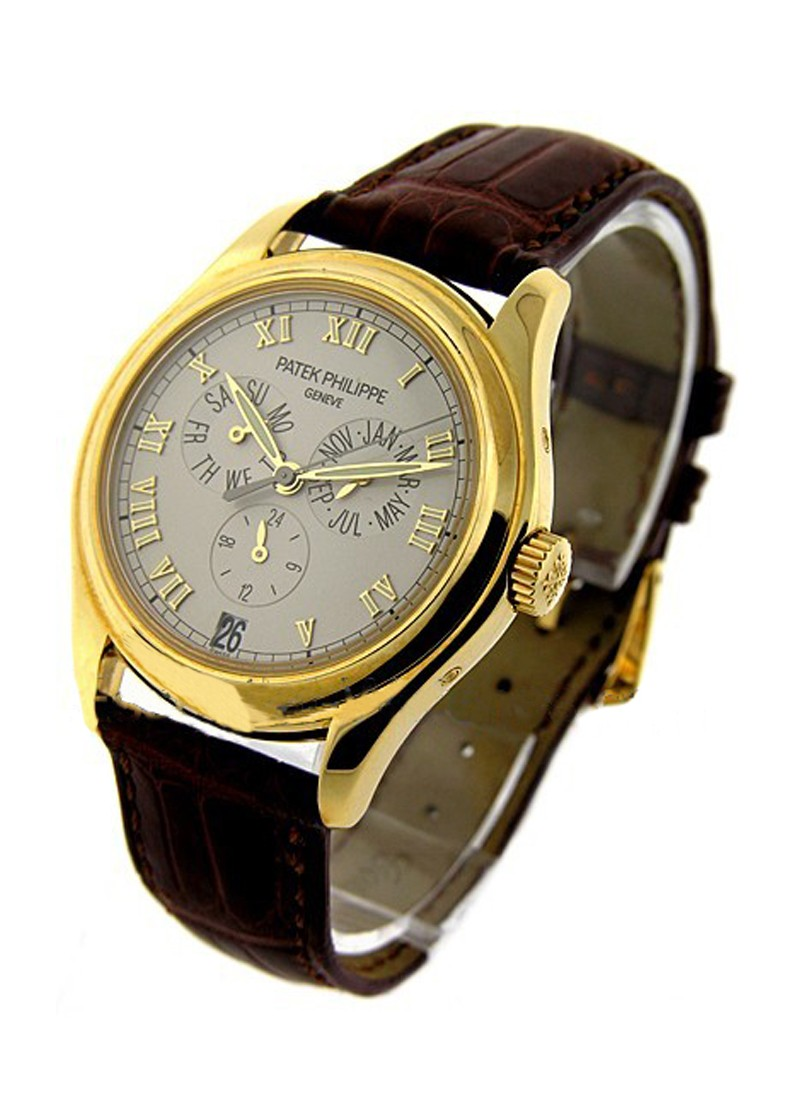 Patek Philippe 5035J   Annual Calendar in Yellow Gold