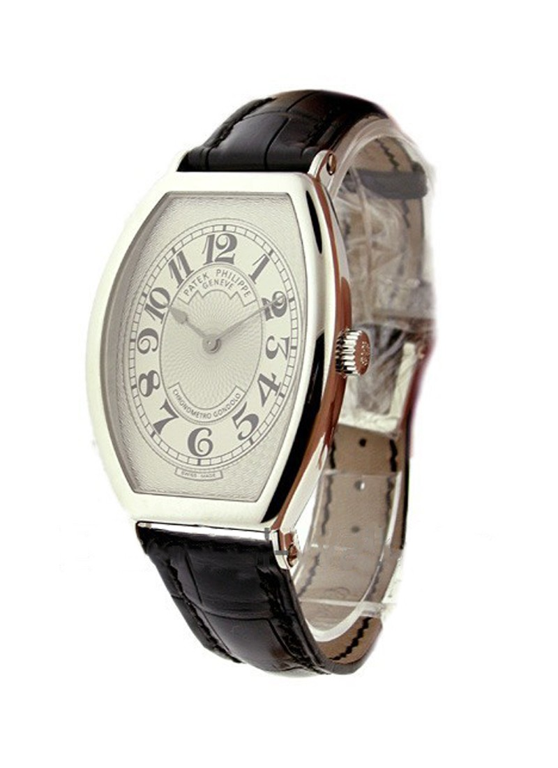 Patek Philippe Chronometro Gondolo Ref 5098P in Platinum