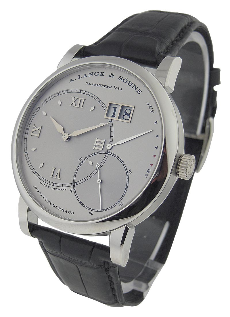 A. Lange & Sohne Grand Lange 1Mens Mechanical in Platinum