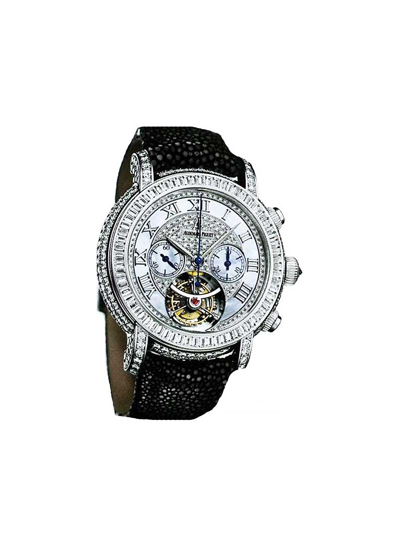 Audemars Piguet Jules Audemars in White Gold with Diamond Bezel