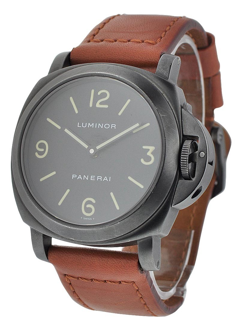 Panerai PAM 009 B - Luminor Base PVD Black Steel