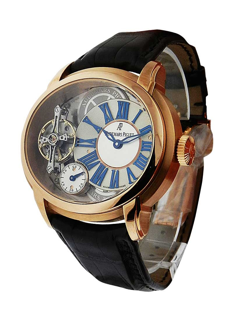 Audemars Piguet Millenary Escape Tourbillion with Deadbeat Seconds in Rose Gold