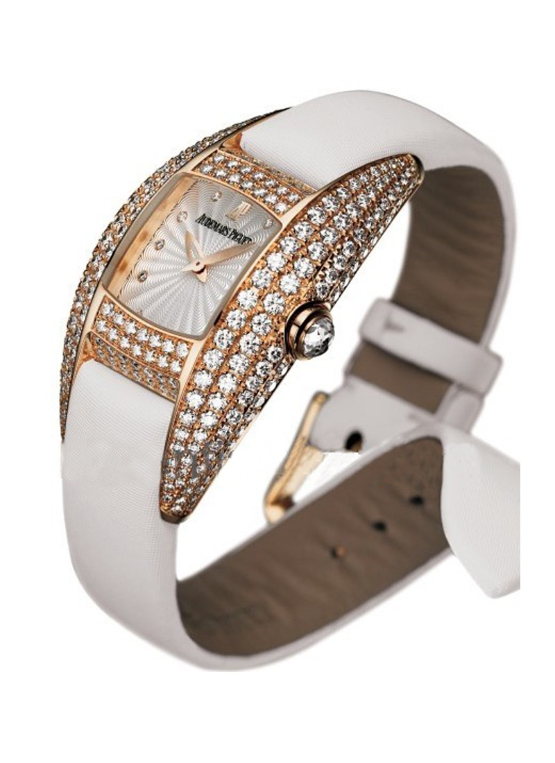 Audemars Piguet Dream in Rose Gold with Full Diamond Case