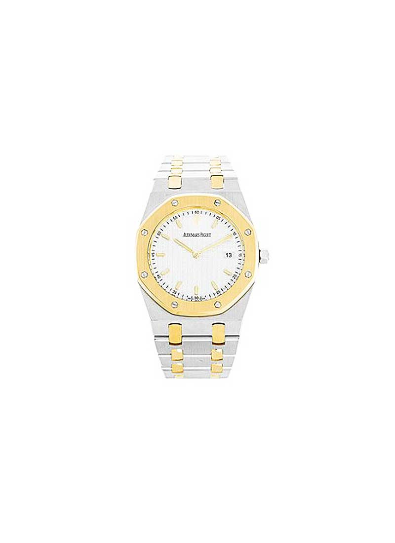 Audemars Piguet Lady's ROYAL OAK in Steel and Yellow Gold Bezel