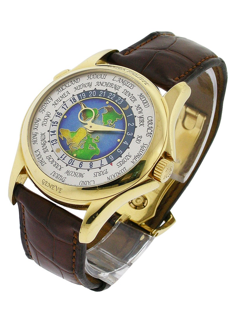 Patek Philippe Complications World Time 5131J in Yellow gold - New Version