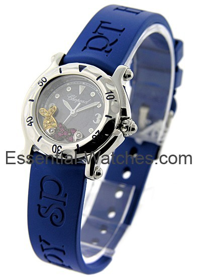 Chopard Happy Beach Mid Size in Steel