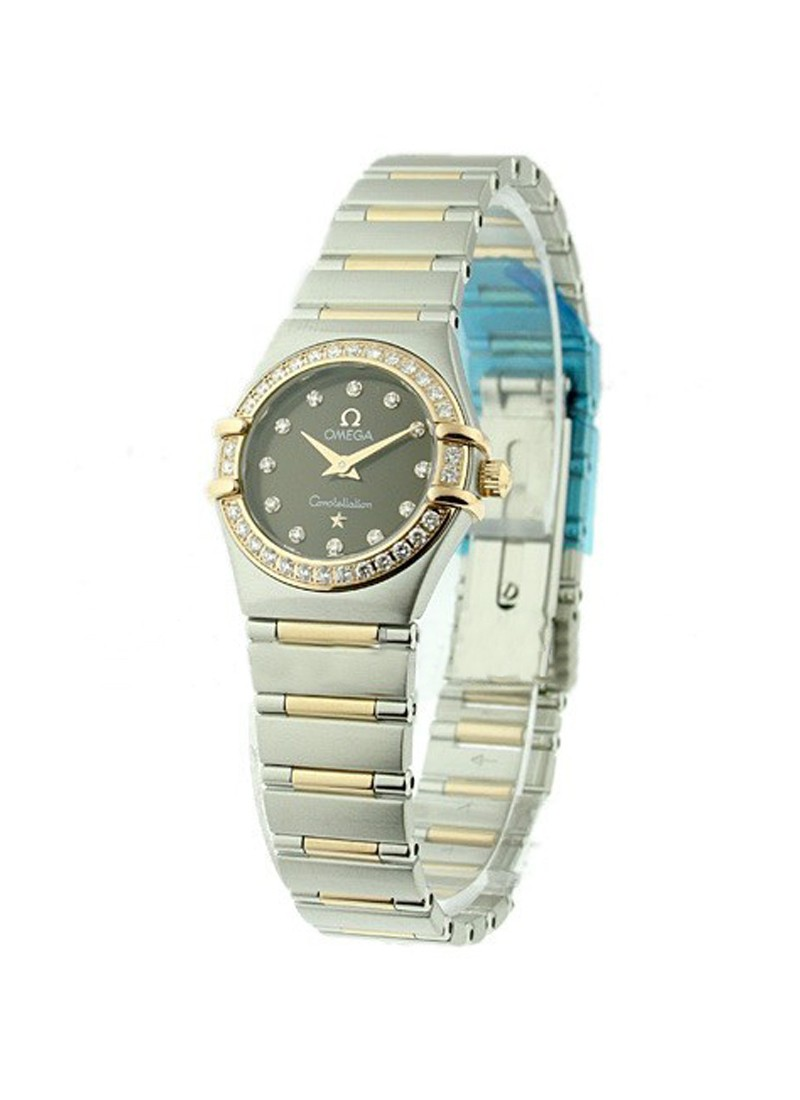 Omega Constellation 95 - Diamond Bezel