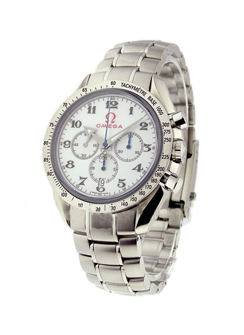Omega Speedmaster Broad Arrow Olympic Collection 44mm Automatic in Steel