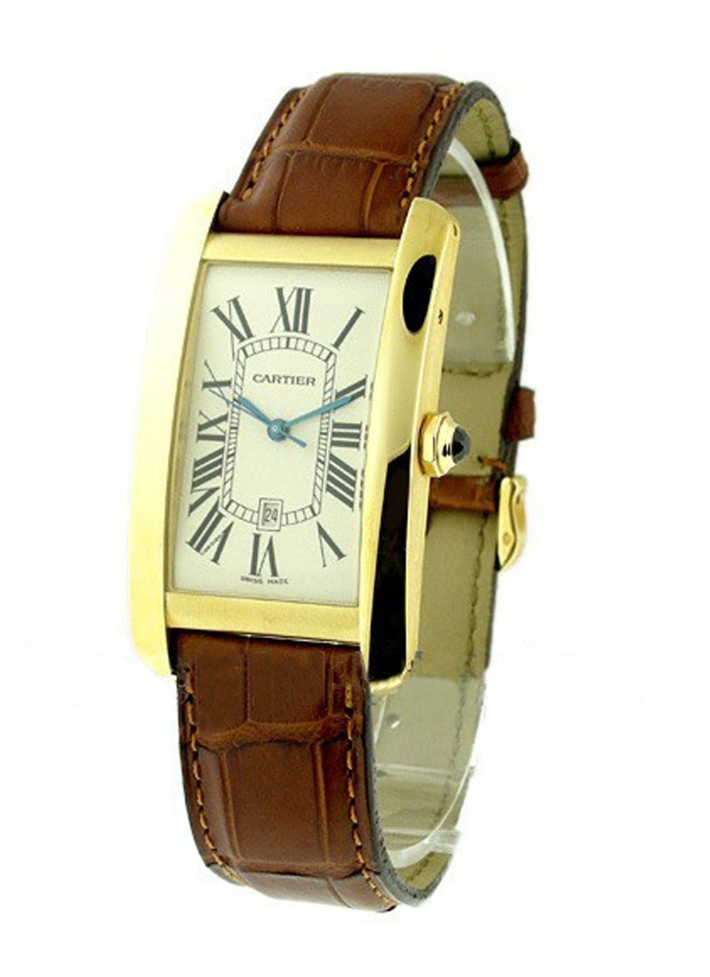 Cartier Tank Americaine in Yellow Gold