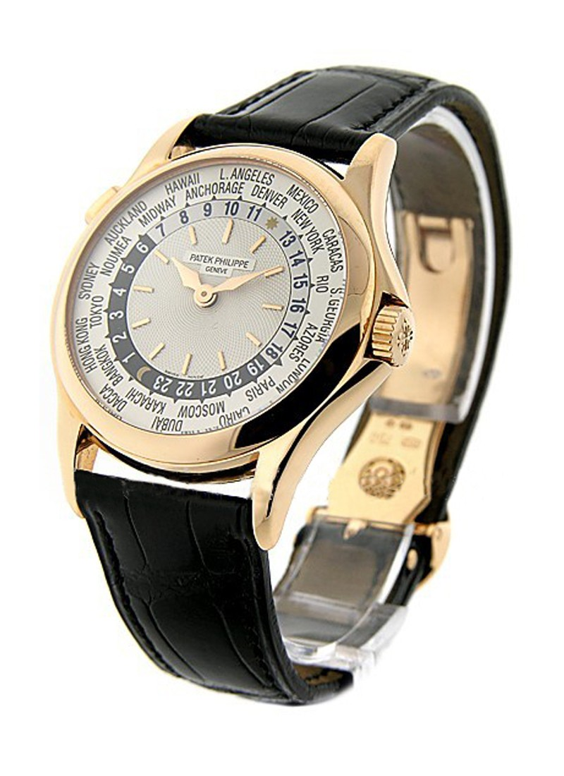 Patek Philippe World Timer 5110R in Rose Gold - Discontinued Version