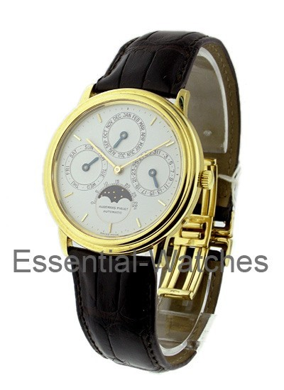 Audemars Piguet Perpetual Calendar Moonphase in Yellow Gold