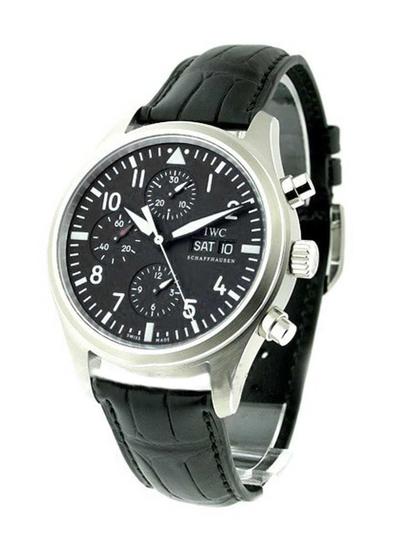 IWC Pilots Chronograph 42mm in Steel