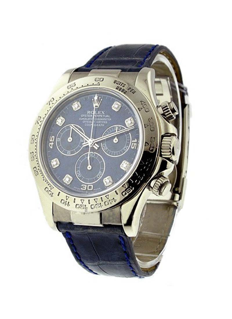Rolex Used Daytona in White Gold