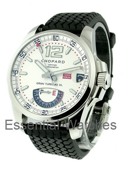 Chopard Gran Turismo XL Power Reserve in Steel