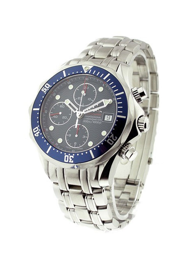 Omega Seamaster 300m Chronograph   New Version