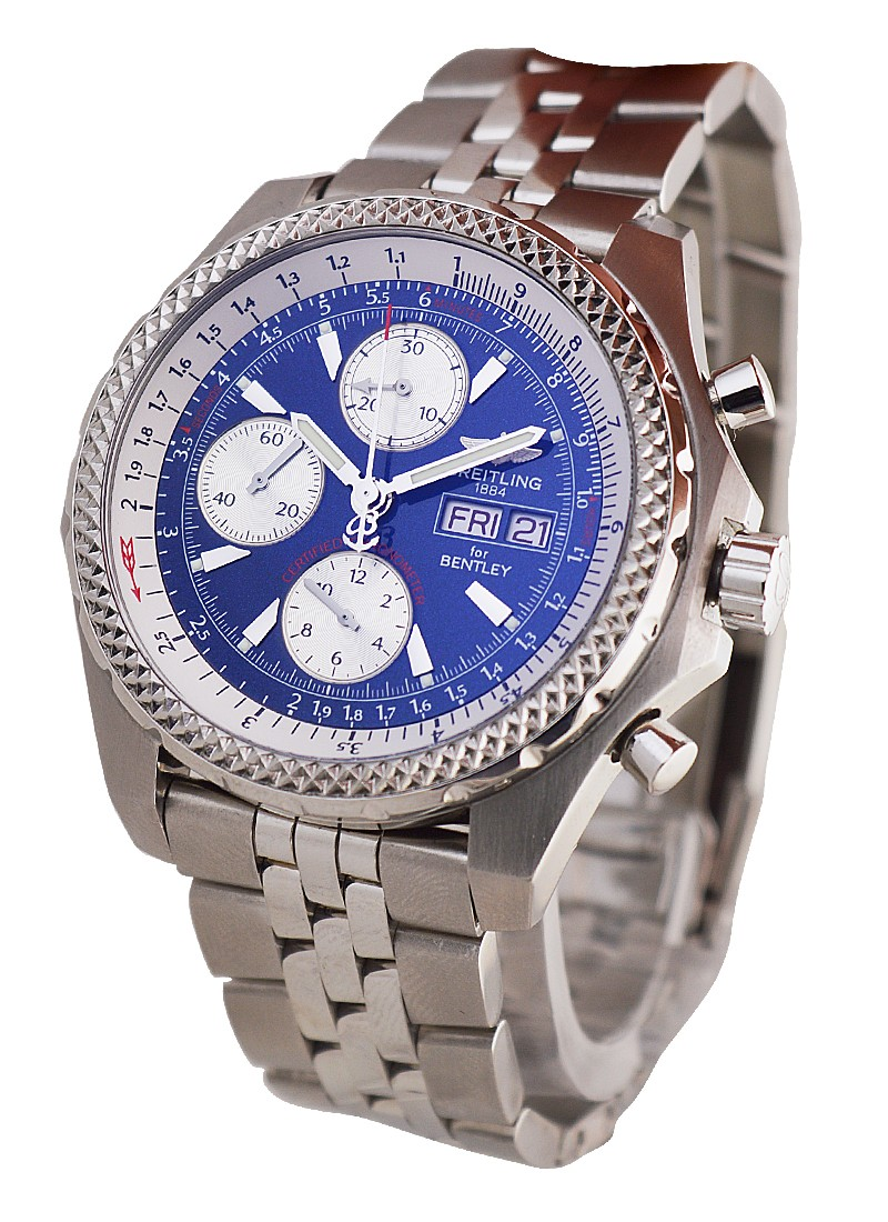 Breitling Bentley Collection GT Chronograph Men's in Steel