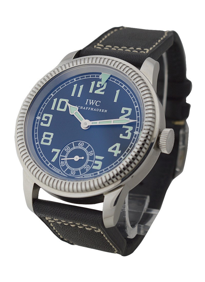 IWC Vintage Pilot Hand Wind in Steel with Rotating Bezel