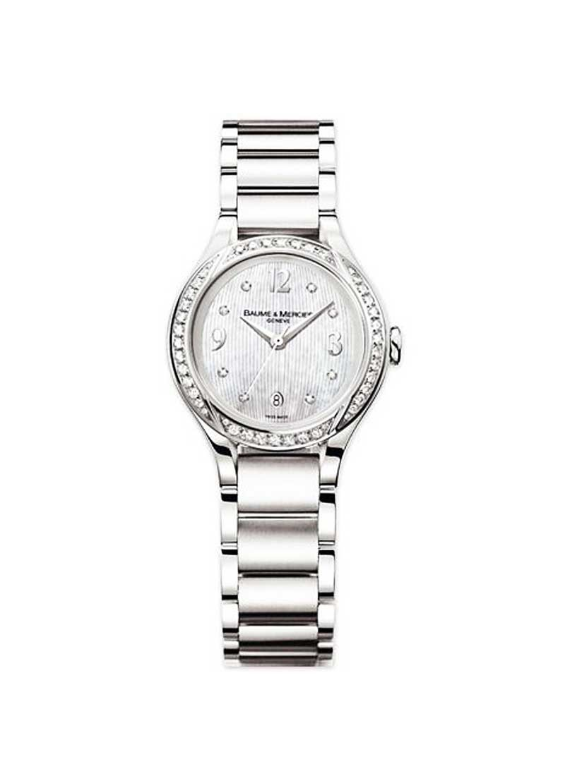 Baume & Mercier Ilea Lady's with Diamond Bezel