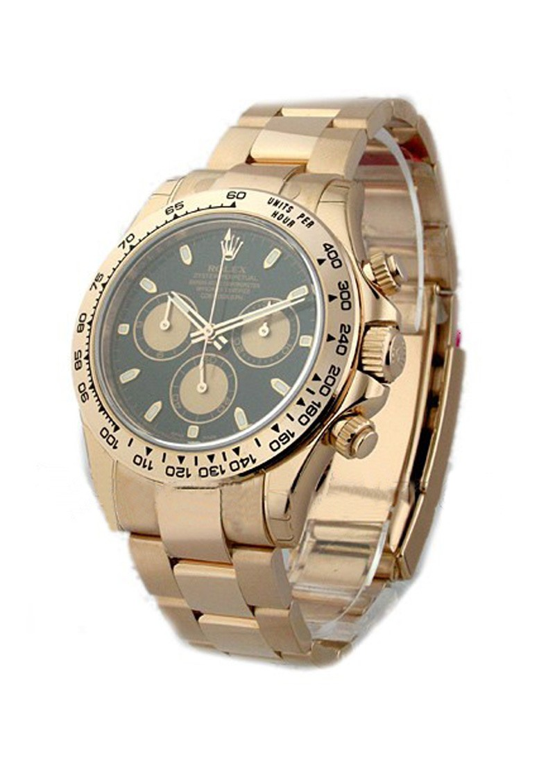 Rolex Unworn Daytona Cosmograph in Rose Gold with Engraved Bezel