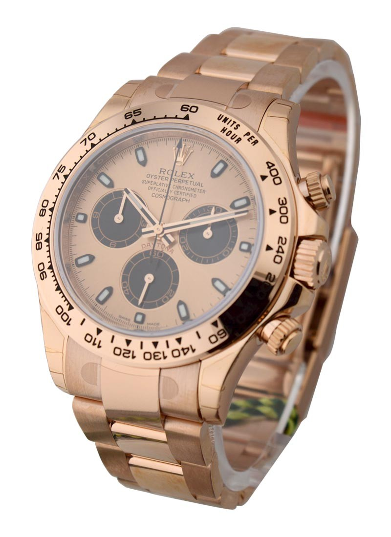 Rolex Unworn Everose Rose Gold Daytona on Bracelet 116505