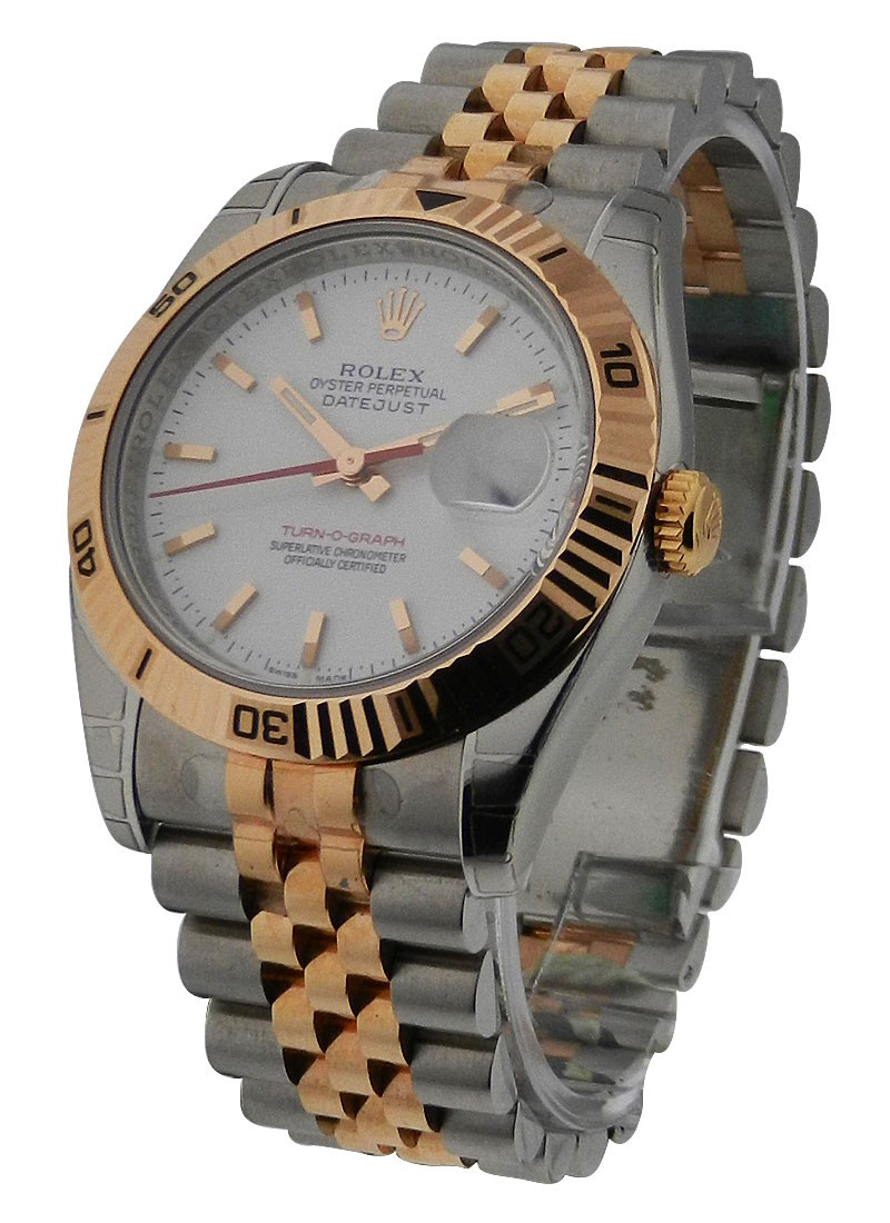 Rolex Unworn 2 Tone Oyster Perpetual Datejust    Steel and Rose Gold