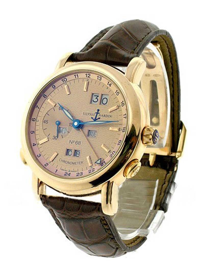 Ulysse Nardin GMT Perpetual 40mm in Rose Gold