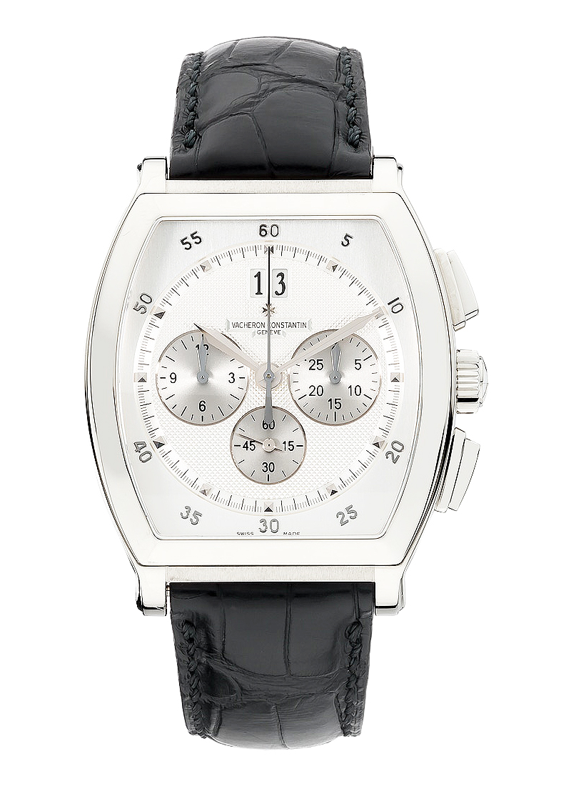 Vacheron Constantin Malte Tonneau Chronograph in White Gold