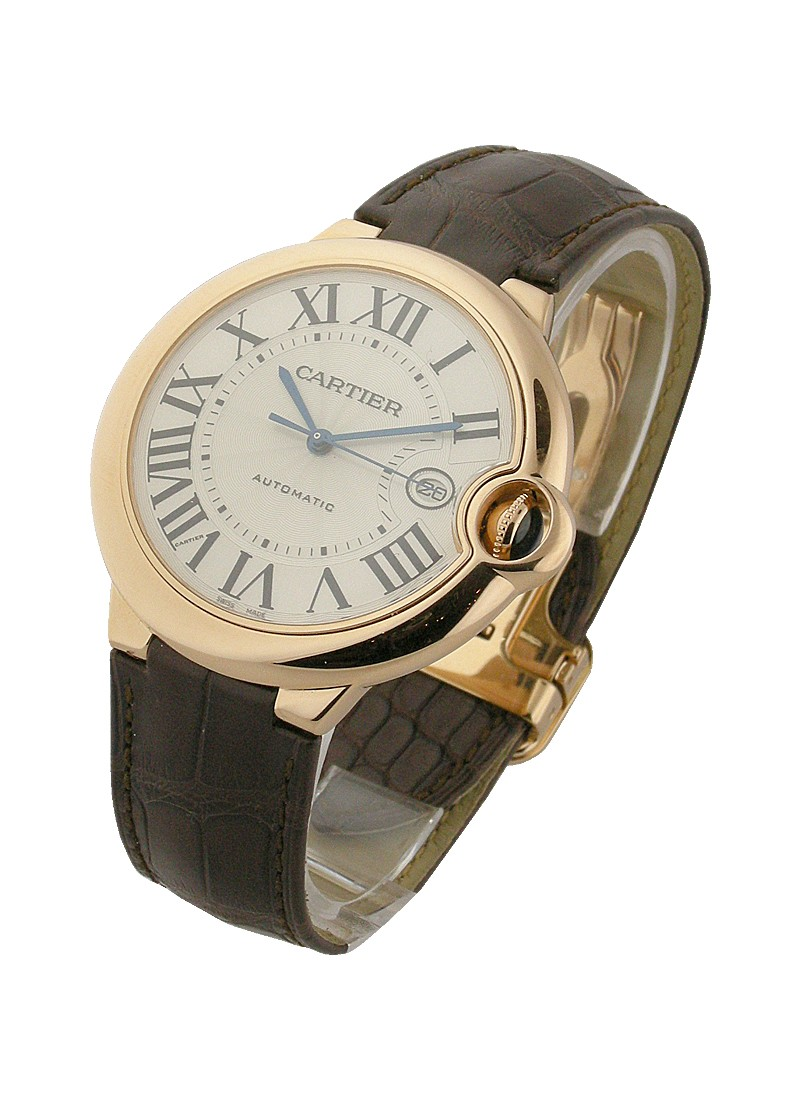 Cartier Ballon Bleu Large Size 42mm in Rose Gold