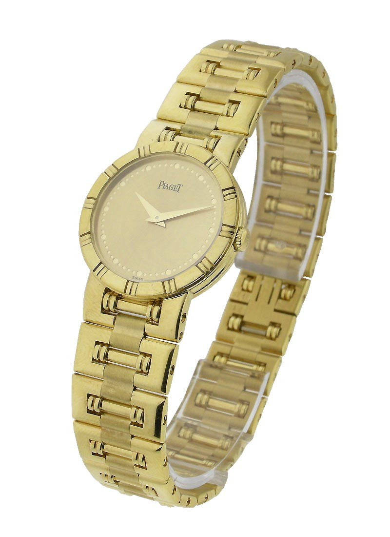 Piaget Yellow Gold Round Dancer