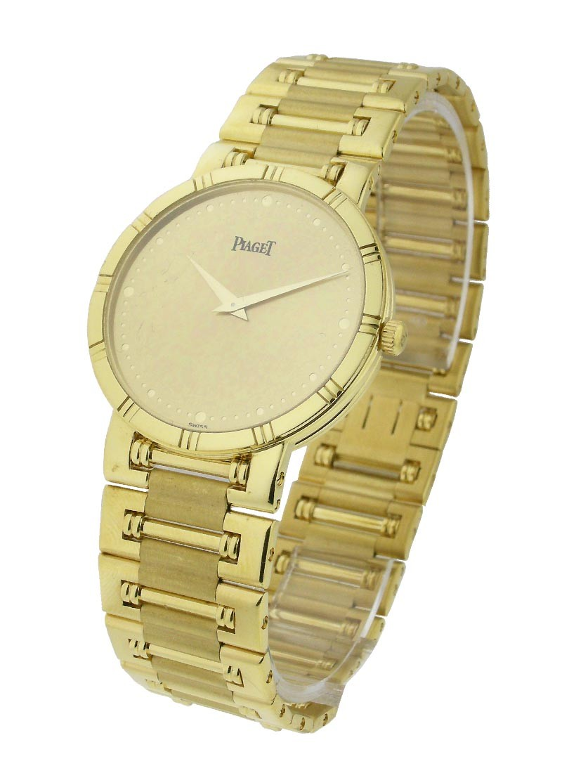 Piaget Men Dancer Yellow Gold on Bracelet