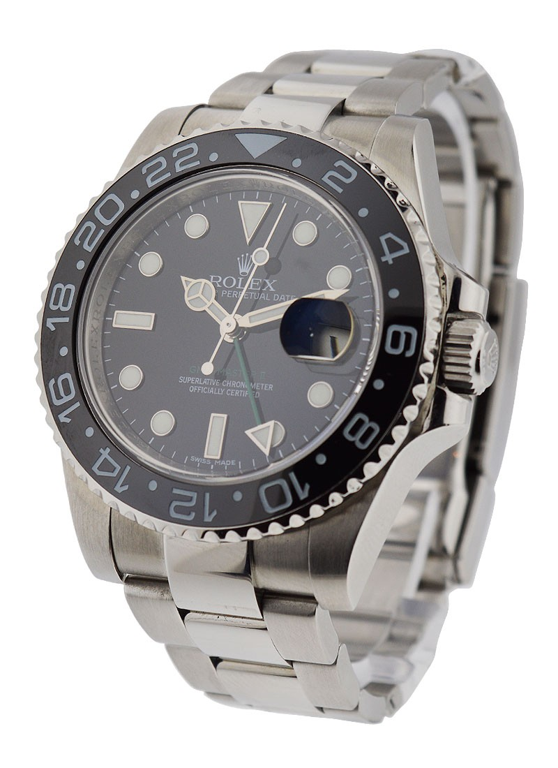 Rolex Used GMT Master II with Ceramic Bezel 116710