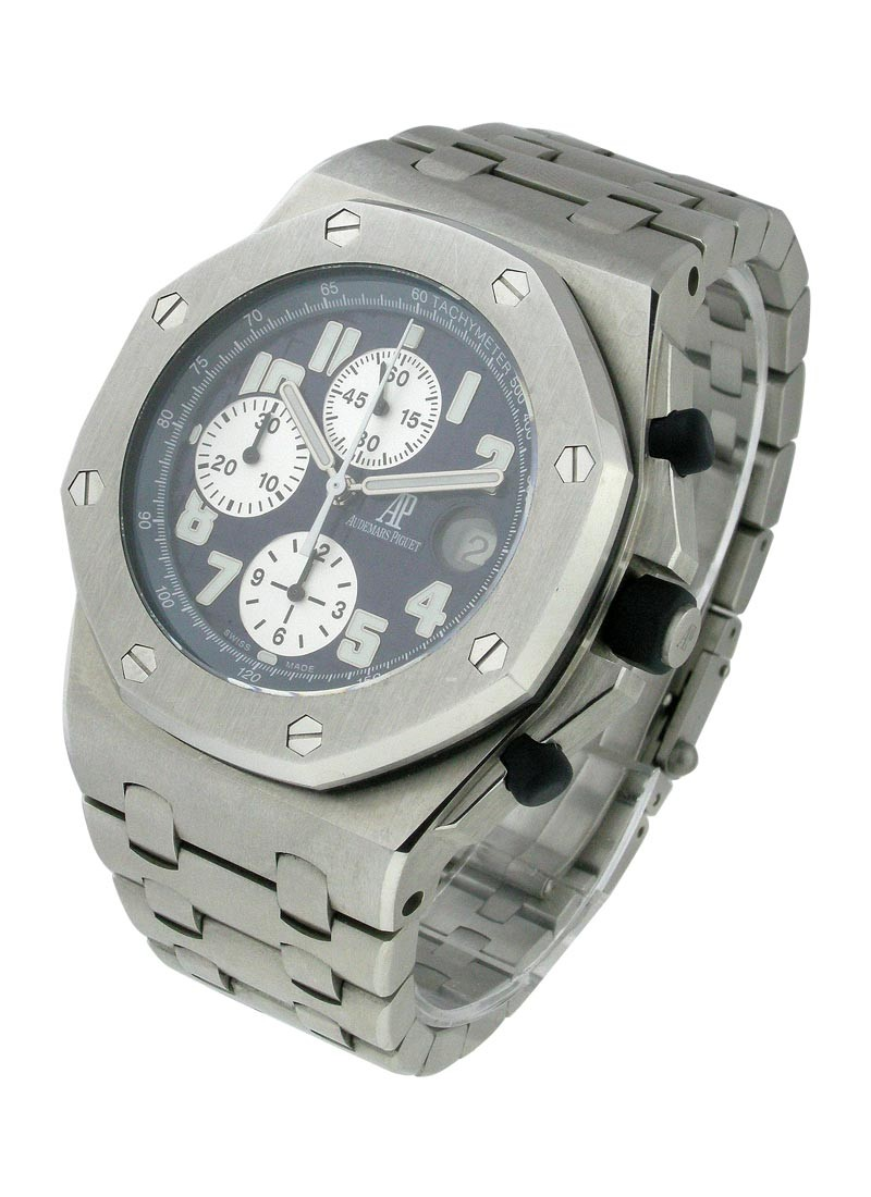 Audemars Piguet Royal Oak Offshore Chrono in Steel