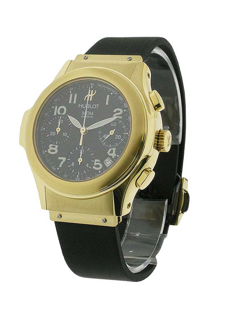 Hublot Elegant Series Chronograph Automatic in Yellow Gold