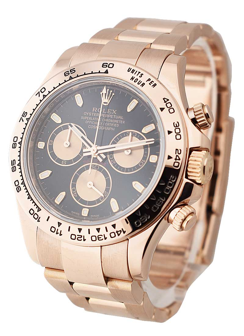 Pre-Owned Rolex Rose Gold Daytona on Bracelet