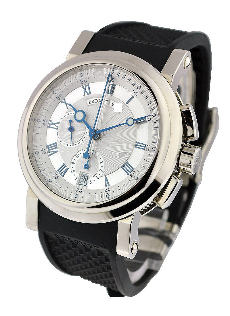 Breguet Marine II Chronograph in White Gold