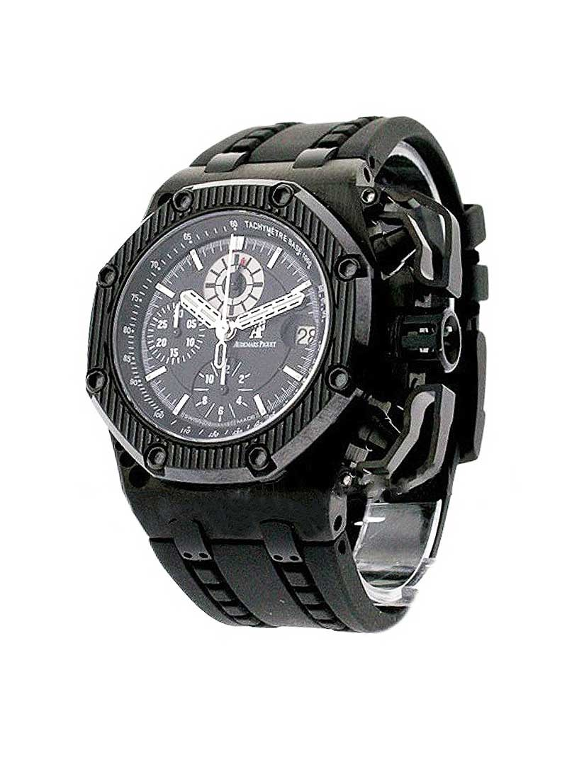 Audemars Piguet Royal Oak Offshore Survivor in Black PVD Titanium with Black Ceramic Bezel