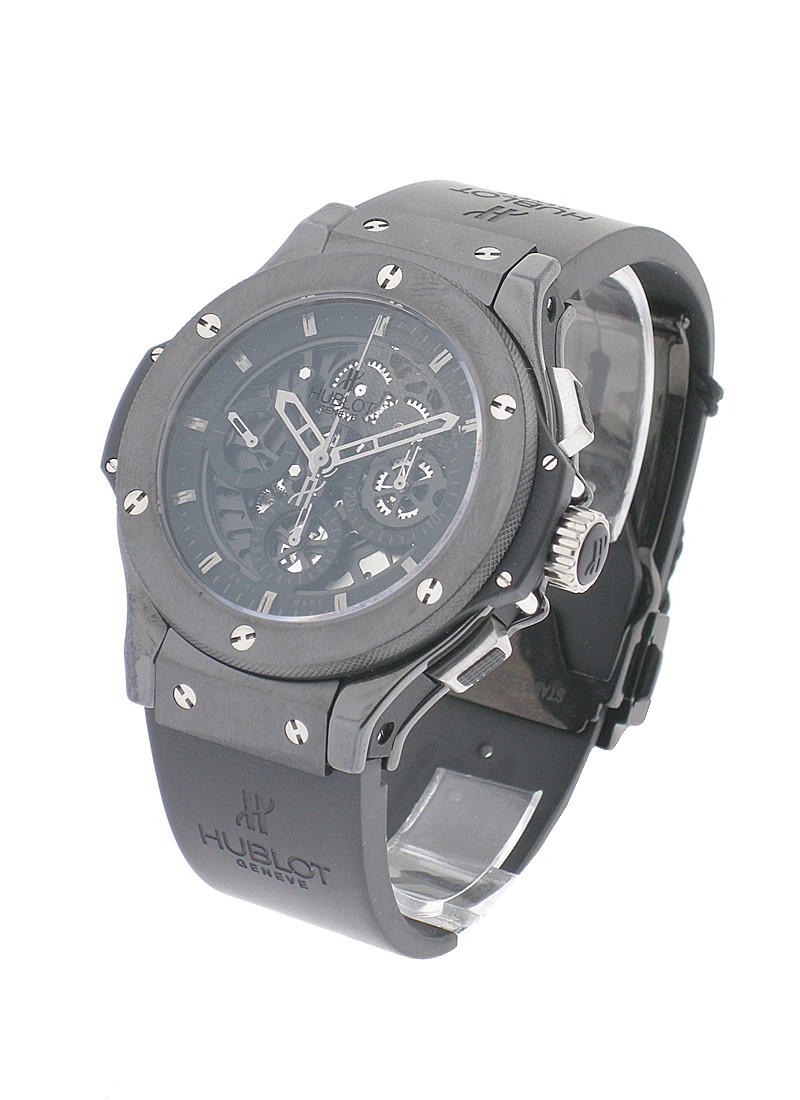 Hublot Aero Bang All Black 44mm in Black Ceramic