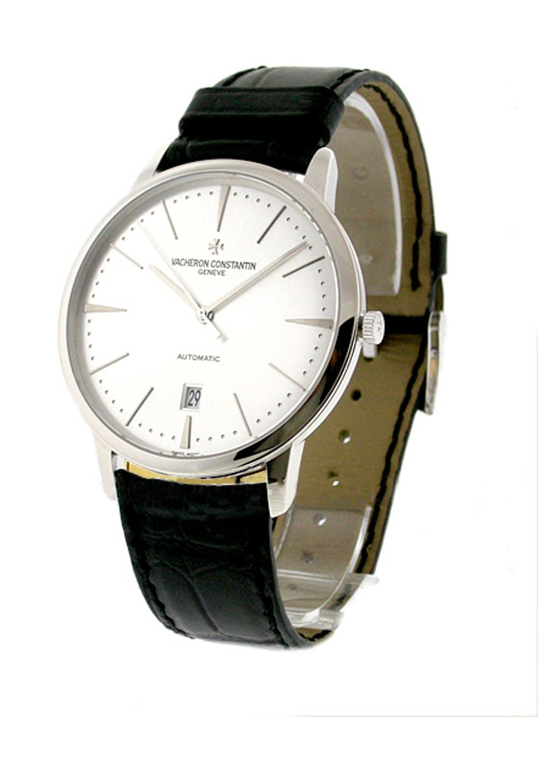 Vacheron Constantin Patrimony Contemporary in White Gold